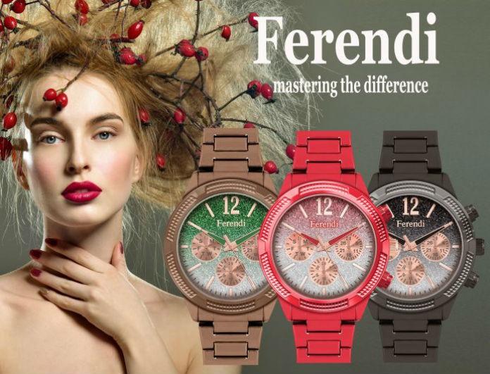 Νικητές Διαγωνισμού: Οι 3 τυχεροί που κέρδισαν από 1 υπέροχο ρολόι Ferendi!