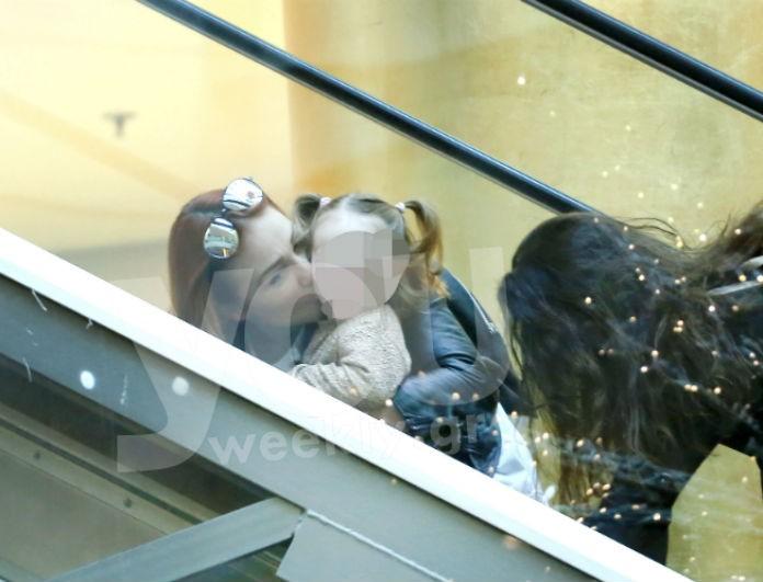 Πηνελόπη Αναστασοπούλου: Έκανε άνω κάτω ένα εμπορικό κέντρο μαζί με την κορούλα της! Οι φωνές και τα παιχνίδια τους! Αποκλειστικές φωτογραφίες...