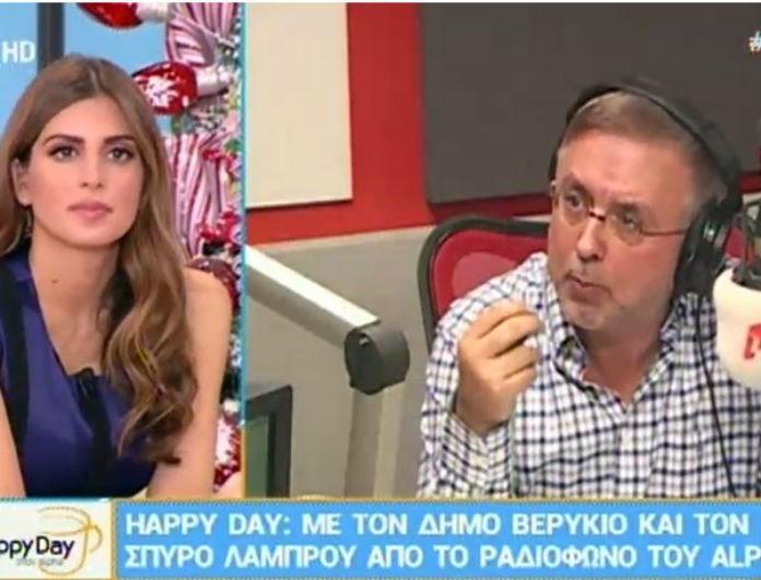 Ο αντιπρόεδρος του Alpha, Δήμος Βερύκιος, παίρνει θέση για το κόψιμο της Ελληνοφρένειας! Τι αποκαλύπτει; (Βίντεο)
