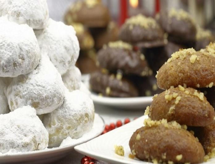 Χριστούγεννα χωρίς γλυκά... δεν γίνεται! - Πόσες θερμίδες έχουν τα μελομακάρονα και οι κουραμπιέδες;