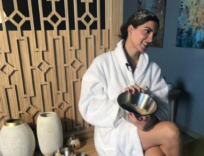 Μόνο στο Youweekly.gr! H απόλυτη μάσκα ενυδάτωσης της Σταματίνας Τσιμτσιλή! Έτσι διατηρεί μακριά τα μαλλιά της...