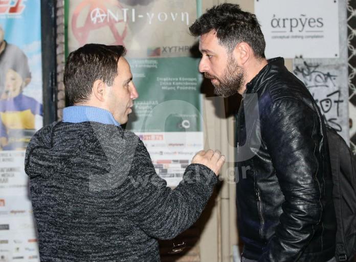 Αποκαλυπτικό! Η στιγμή που συναντήθηκαν Παπαγιάννης - Παυλίδου στο θέατρο μετά τον ξυλοδαρμό και του ανακοινώθηκε η απόλυση του!