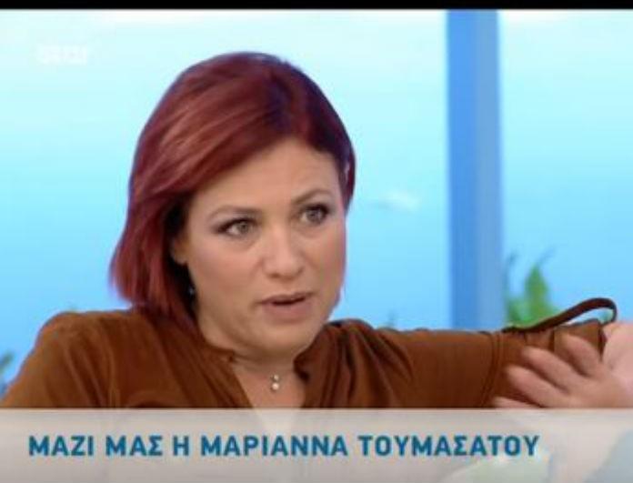Έξαλλη η Μαριάννα Τουμασάτου με ερώτηση της Κατερίνας Καραβάτου! Η ατάκα - φωτιά στον αέρα των «Κου - Κου»!