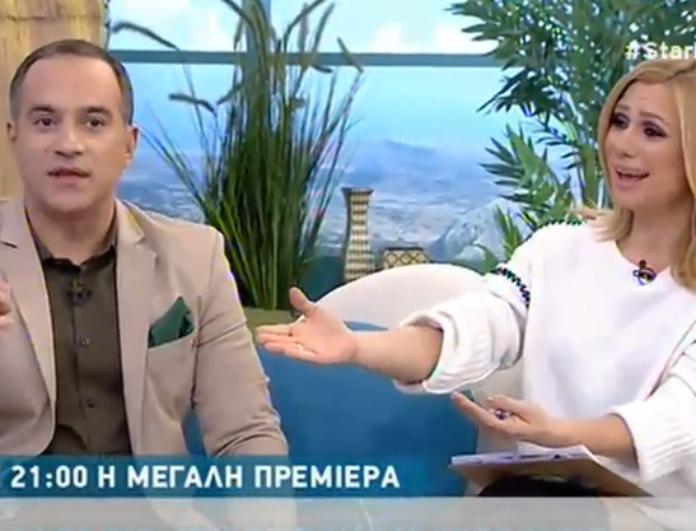 Αποκάλυψε στην εκπομπή Καραβάτου - Κατσούλη ότι η γυναίκα του είναι έγκυος! Ο λόγος για τον... (Βίντεο)