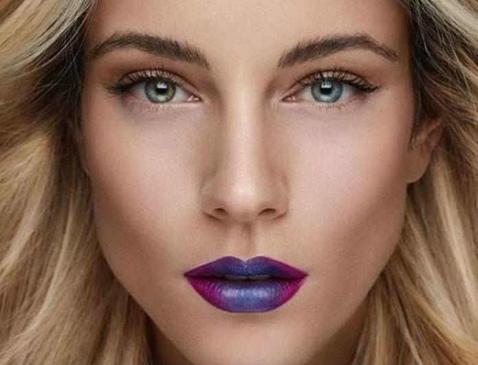 Τα ombre χείλη της Δούκισσας Νομικού είναι το νέο hot trend στο μακιγιάζ! Πώς θα αντιγράψεις το look της!