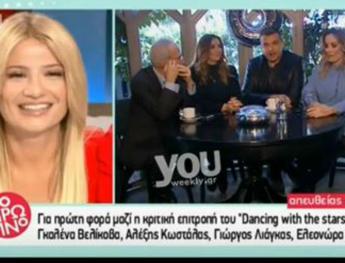 Η σπόντα του Λιάγκα στον Λάτσιο για το κόψιμο του «Late Night»! «Ένιωθε τύψεις και με έβαλε στο Dancing»!