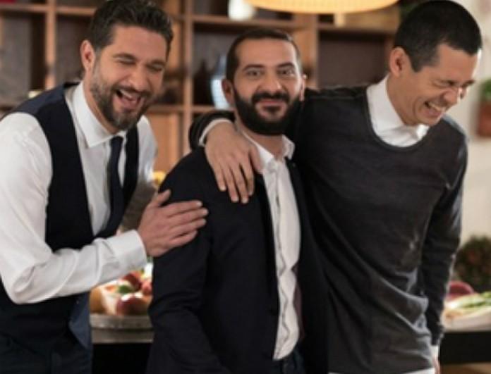 Master Chef: Μάθαμε το ύψος των 3 κριτών! Δεν φαντάζεστε πόσο είναι ο Κουτσόπουλος που φαίνεται σαν νάνος δίπλα στους άλλους δύο!