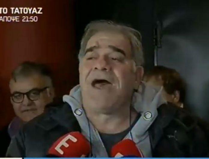 Εκτός εαυτού ο Μποσταντζόγλου στις κάμερες μόλις τον ρώτησαν για τον ξυλοδαρμό της Παυλίδου: