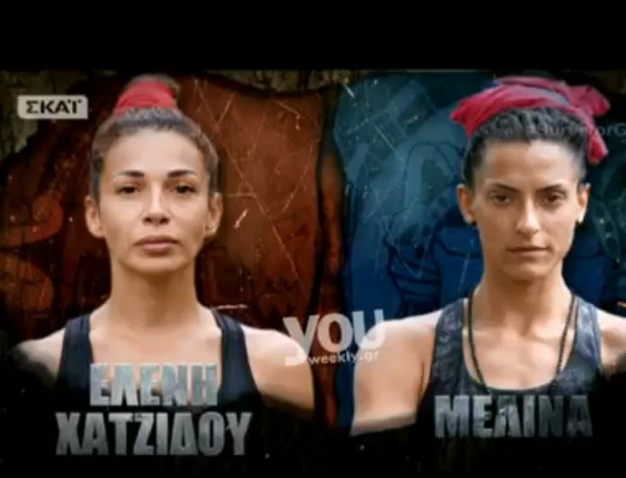 Survivor 2: Τρελά πανηγύρια στο Twitter που έχασε η Μελίνα από την Χατζίδου! Επικά tweets...