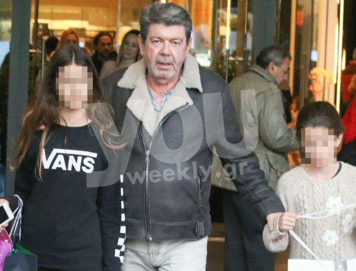 Γιάννης Λάτσιος: Οι κόρες του μεγάλωσαν πολύ! Για ψώνια με την Λάουρα και την Βαλέρια!