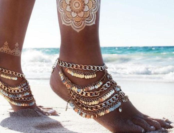 Ο συμβολισμός που σημαίνουν τα βραχιολάκια για το πόδι θα σας κάνουν να το σκεφτείτε σοβαρά πριν τα φορέσετε!