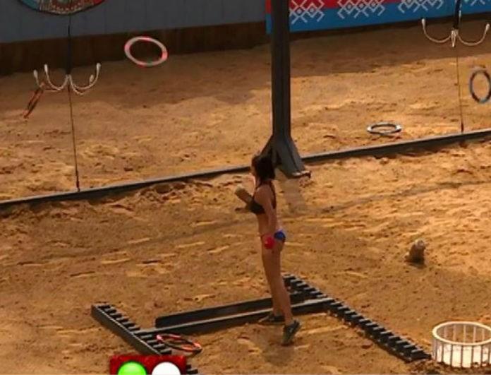 Survivor 2: H Ξένια αγωνίζεται... σχεδόν γυμνή και το twitter παραληρεί! Οι επικές ατάκες για γέλια μέχρι δακρύων!