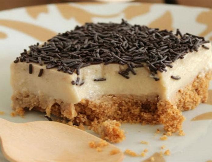 Απλά απίθανη: Η πιο νόστιμη και εύκολη τούρτα χωρίς θερμίδες!