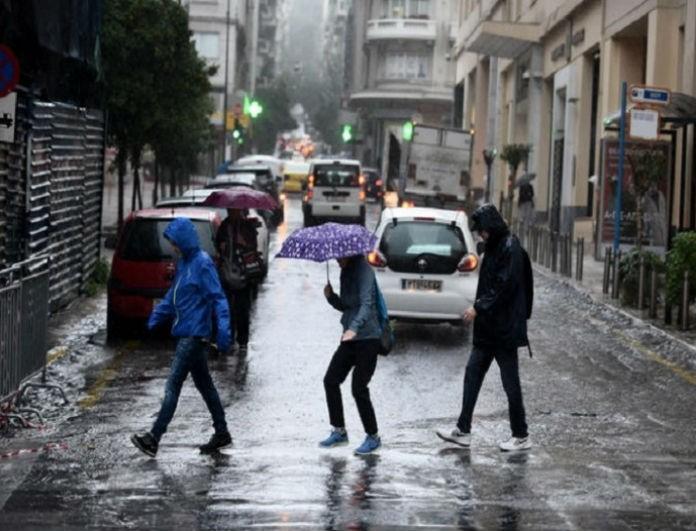 Έντονη κακοκαιρία αναμένεται και σήμερα Παρασκευή! Βροχές και καταιγίδες σε όλη την χώρα!