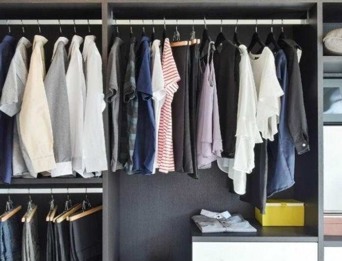 Εύκολα tips για να εξαφανίσετε την μυρωδιά της κλεισούρας από τα ντουλάπια σας!