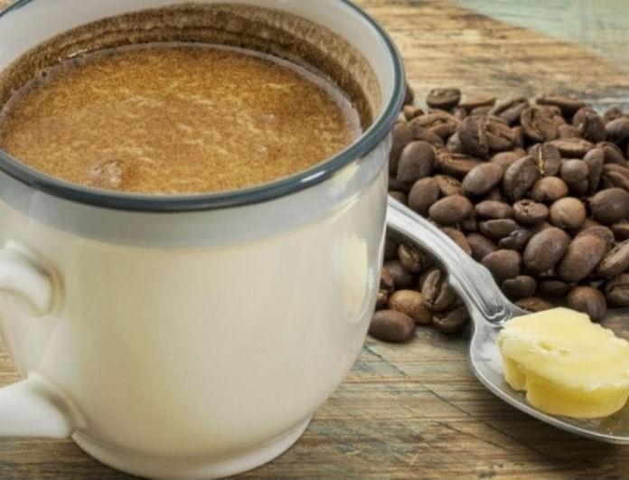 Κι όμως γίνεται: Πώς μια κουταλιά βούτυρο στον καφέ σου μπορεί να σε βοηθήσει να αδυνατίσεις!