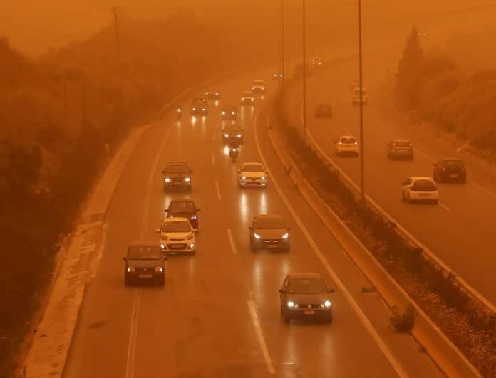 Επιστρέφει η σκόνη σήμερα! Βροχές και σποραδικές καταιγίδες!