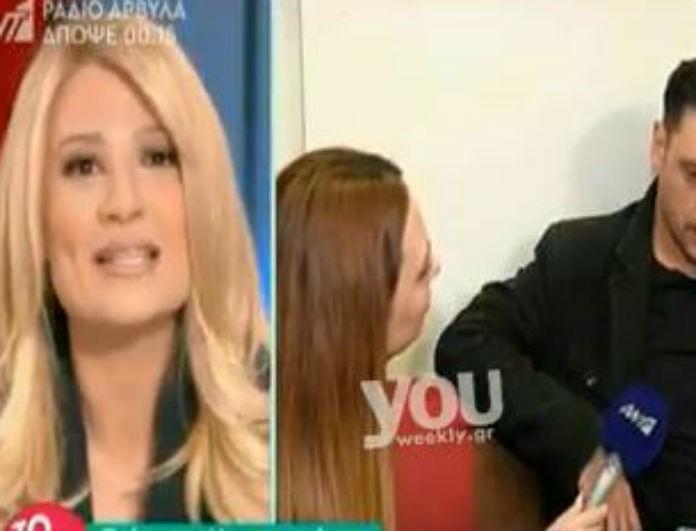Σε αμηχανία η Σκορδά με την συνέντευξη του Χρυσοστόμου! Η αντίδραση του που την κόμπλαρε!