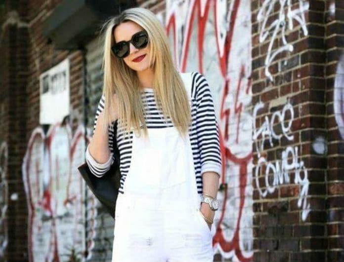 White overall style: To look που θα σε συνοδεύσει στις πρωινές σου εμφανίσεις! Πως να το συνδυάσεις σωστά...