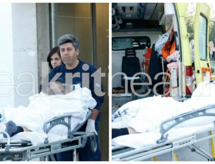 63393dec23f7 Πολύνεκρο τροχαίο στην Κρήτη  Η στιγμή που βγαίνει από το νοσοκομείο ο  τραγικός πατέρας που