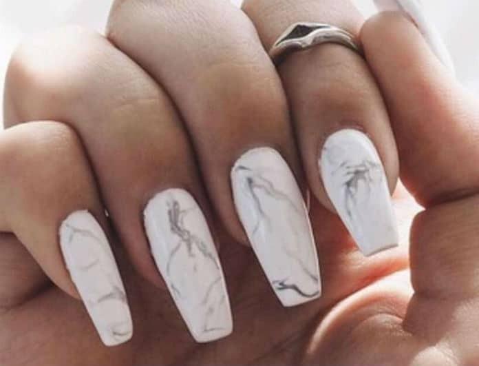 Marble manicure: Πώς θα το πετύχεις σε λίγα μόνο βήματα!