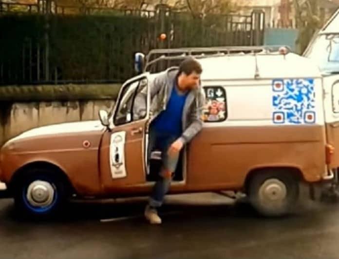 Απίστευτος: Ο άνδρας που έχει πάει το παρκάρισμα... σε άλλο επίπεδο! (Video)