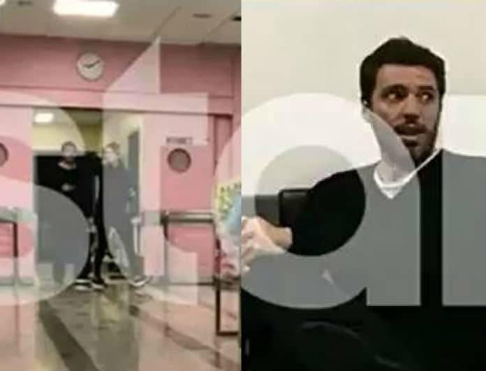Δημήτρης Θεοδωρίδης: Τα πλάνα μέσα από το μαιευτήριο και η αγωνία την ώρα του τοκετού! (Βίντεο)