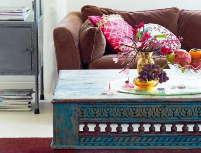 Ανανέωσε το καθιστικό σου: Δώσε Έθνικ χαρακτήρα στο σαλόνι σου με λίγες κινήσεις!