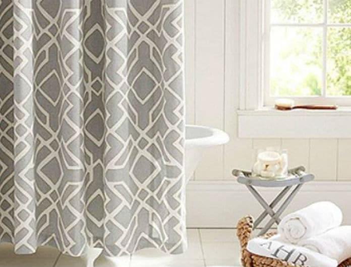 Δεν ξέρεις πως να καθαρίσεις την κουρτίνα του μπάνιου σου; Tips για την κάνεις σαν καινούργια!