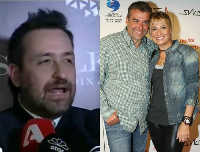 Θέμης Γεωργαντάς: Η απίθανη αποκάλυψή του για το διαζύγιο Λιάγκα-Σκορδά: