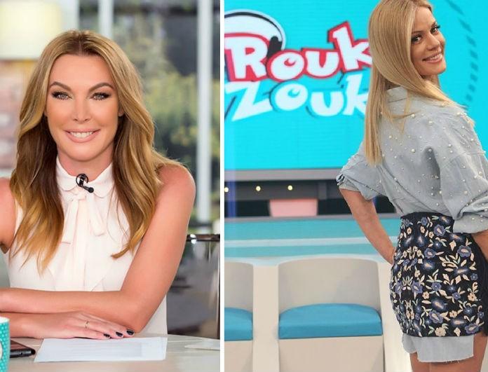 Το Zara παντελόνι που φόρεσαν Τατιάνα και Ζέτα και θέλουμε... κολασμένα! Κοστίζει κάτω από....