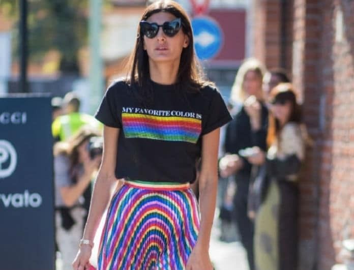 H μόδα φοράει ουράνιο τόξο και διχάζει τις fashionistas! Το πιο αλλοπρόσαλλο trend για την Άνοιξη 2018!