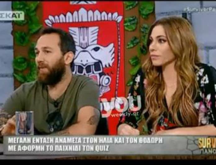 Survivor Πανόραμα: Η Ντορέττα και ο Αναγνωστόπουλος «ξεσκεπάζουν» τον Θοδωρόπουλο! «Έχει άλλη συμπεριφορά μπροστά στις κάμερες γιατί...»