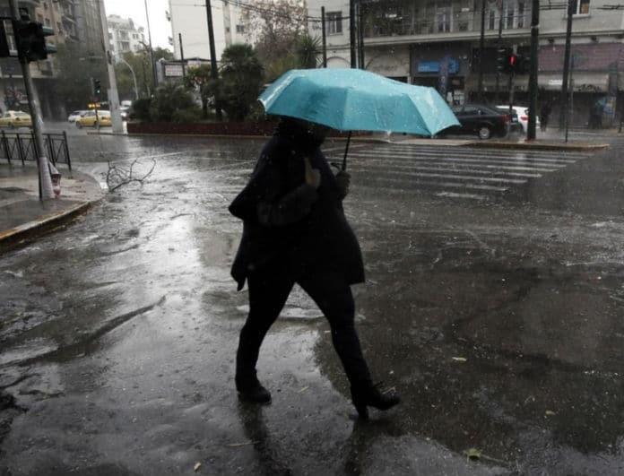 Έκτακτο δελτίο επιδείνωσης καιρού: Καταιγίδες και βροχές από το απόγευμα της Κυριακής! Ποιες περιοχές επηρεάζονται!