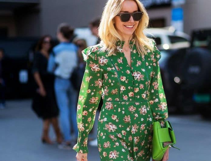 Βάλε floral χωρίς να δείχνεις... ανθισμένος κήπος! Η fashion editor του  Youweekly dc3cbdde2c0
