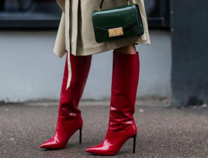 Φουλ στα κόκκινα!  Υιοθέτησε την νέα τάση του street style και  απογείωσε τις πρωινές σου εμφανίσεις!