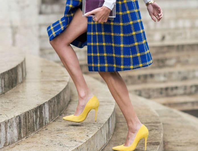 Ξέχνα τις γόβες στιλέτο! Αυτό είναι το νέο trend στα παπούτσια για την Άνοιξη 2018!