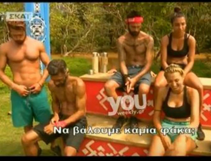 Survivor 2: Έξαλλος ο Παπαργυρόπουλος με την Σπυροπούλου! «Θα φάμε τα...»
