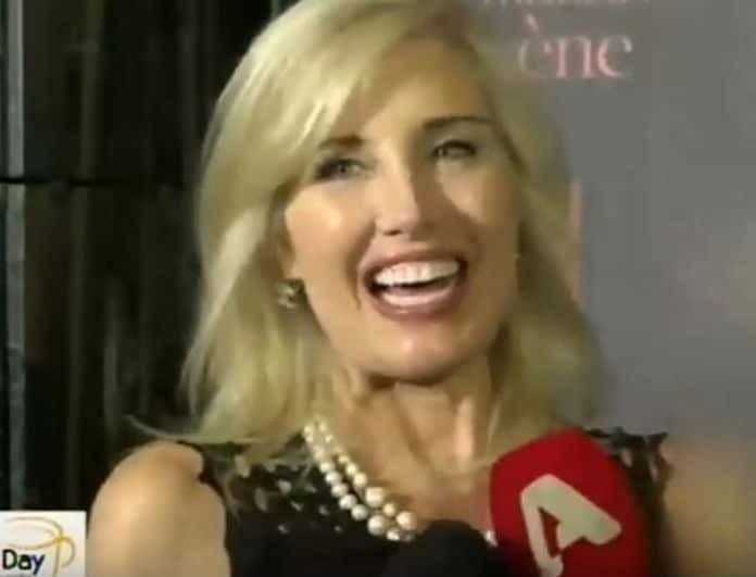 Laurie Holcombe: Η σύντροφος του Δημήτρη Κοντομηνά μιλάει πρώτη φορά στις κάμερες! Τα τρυφερά της λόγια για τον Πρόεδρο του Alpha!