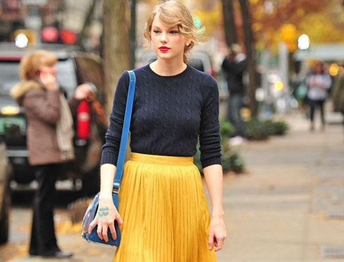 Do it like Taylor Swift! Tips για να γίνεις το επόμενο fashion icon!