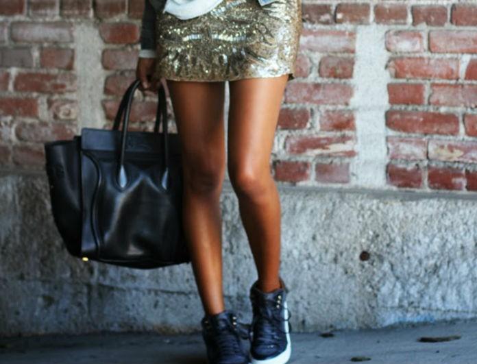 Sneakers με φούστα; Just do it!
