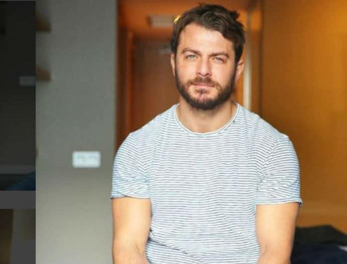 Γιώργος Αγγελόπουλος: Ποζάρει βρεγμένος και ημίγυμνος και προκαλεί πανικό στον γυναικείο πληθυσμό!
