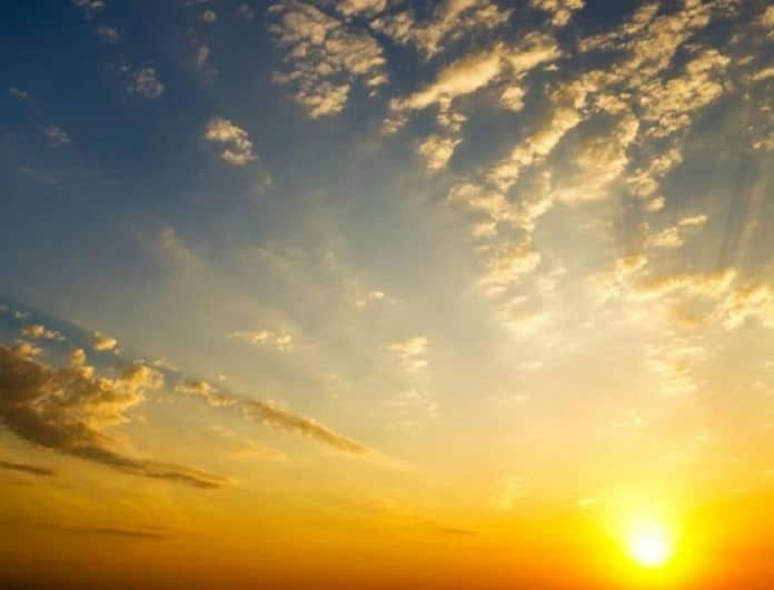 Αίθριος προβλέπεται ο καιρός σήμερα, Δευτέρα με μικρή άνοδο της θερμοκρασίας!