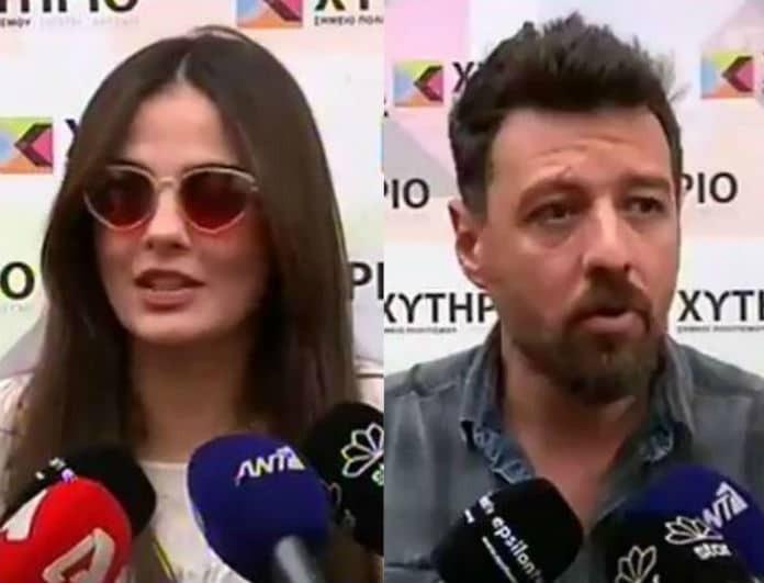 Αγγελική Δαλιάνη - Μάνος Παπαγιάννης: Αποκάλυψαν on camera το όνομα του μωρού τους! (Βίντεο)