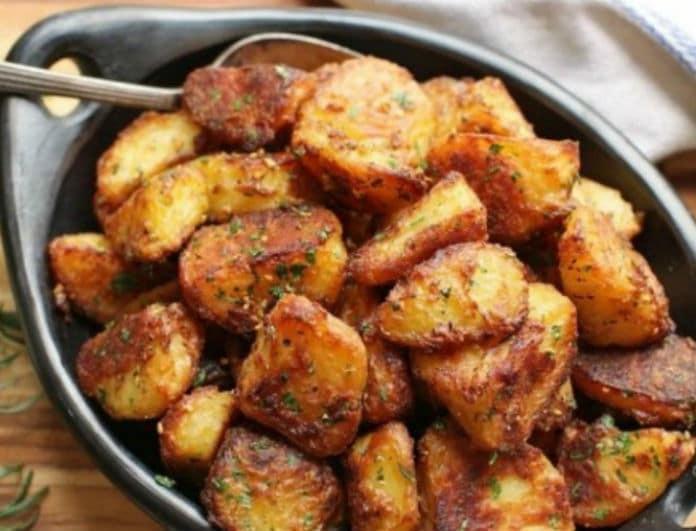 Λαχταριστές country πατάτες φούρνου που λιώνουν στο στόμα!
