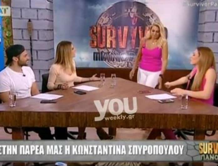 Survivor Panorama: Η μπηχτή της Σπυροπούλου στη Ντορέττα για το Ντάνο και η αμήχανη αντίδρασή της! (Βίντεο)