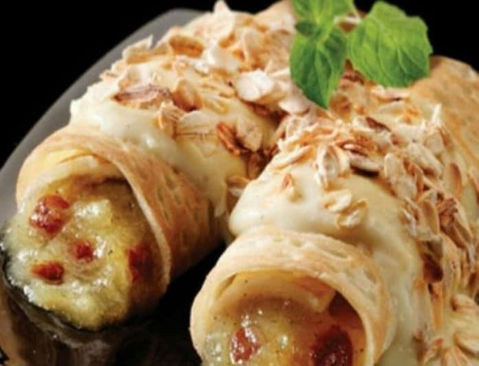 Μία γρήγορη συνταγή: Υπέροχες κρέπες γεμιστές με ψιλοκομμένα λαχανικά!