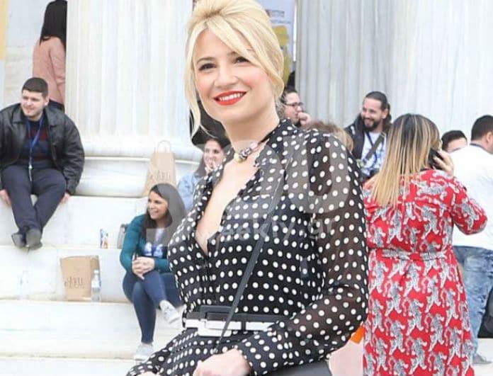 Η Φαίη Σκορδά έκανε το απόλυτο look για την Ανάσταση! Το Zara κομμάτι για να αντιγράψεις το στυλ της!