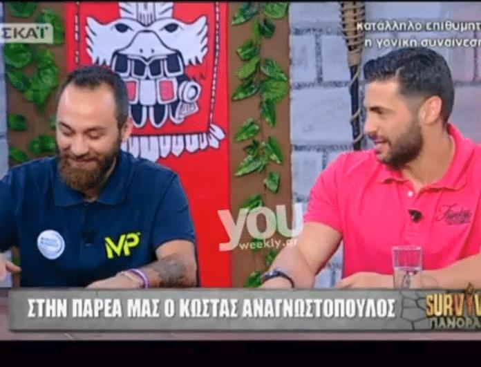 Survivor Panorama: Αυτός είναι ο λόγος που είχε παρεξηγηθεί ο Αναγνωστόπουλος με τον Βασάλο στο πάρτι της ένωσης!