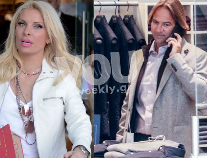 Μενεγάκη - Παντζόπουλος: Πιο ερωτευμένοι από ποτέ σε ραντεβού για ψώνια! Αποκλειστικές φωτογραφίες...